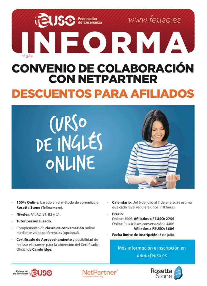 Federacion De Ensenanza De Uso Curso De Ingles Online Con Netpartner